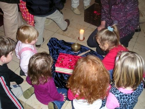 Pfarreigruppe Kleinkinderwortgottesdienst