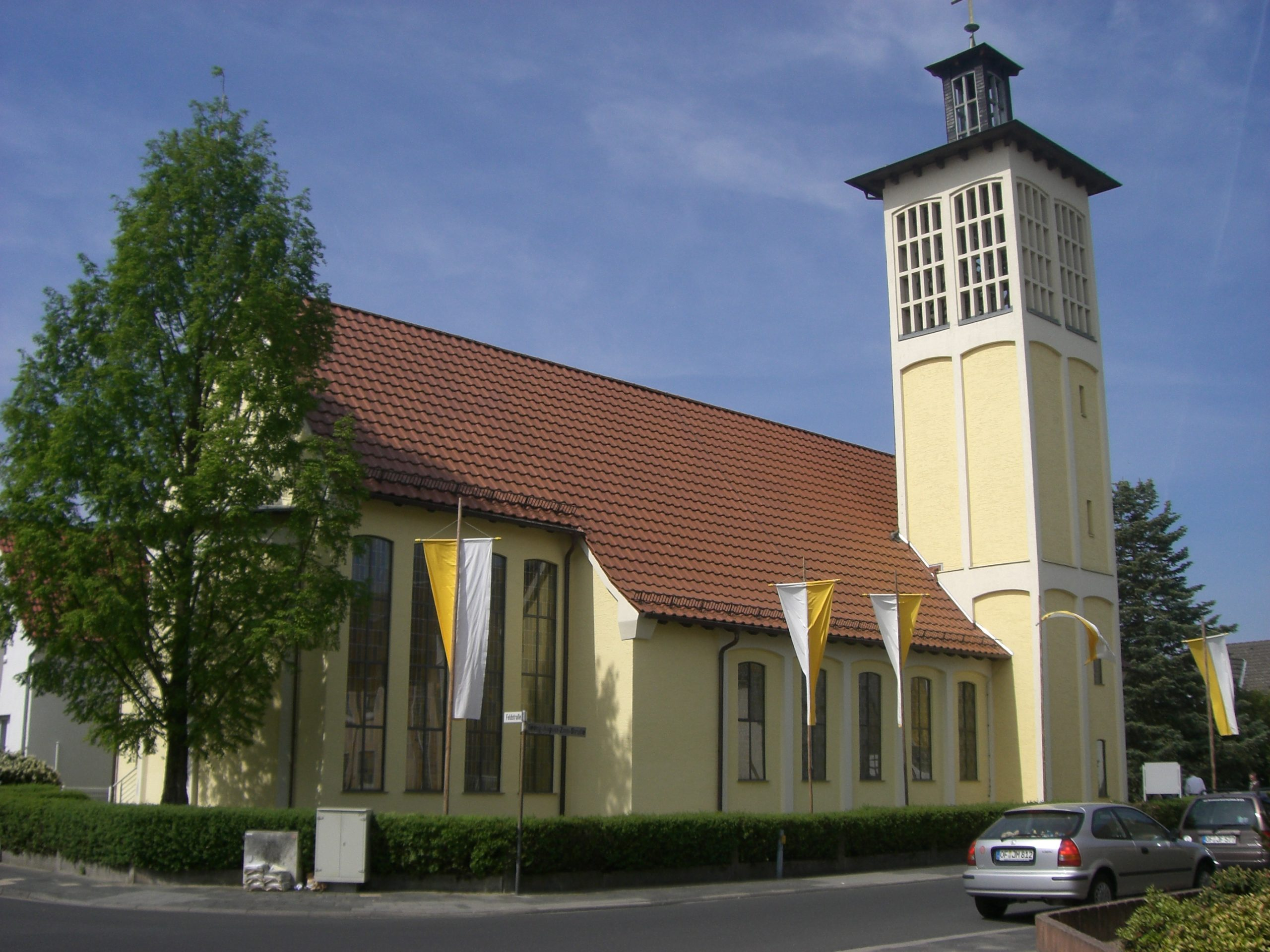 Abendmesse in St. Marien