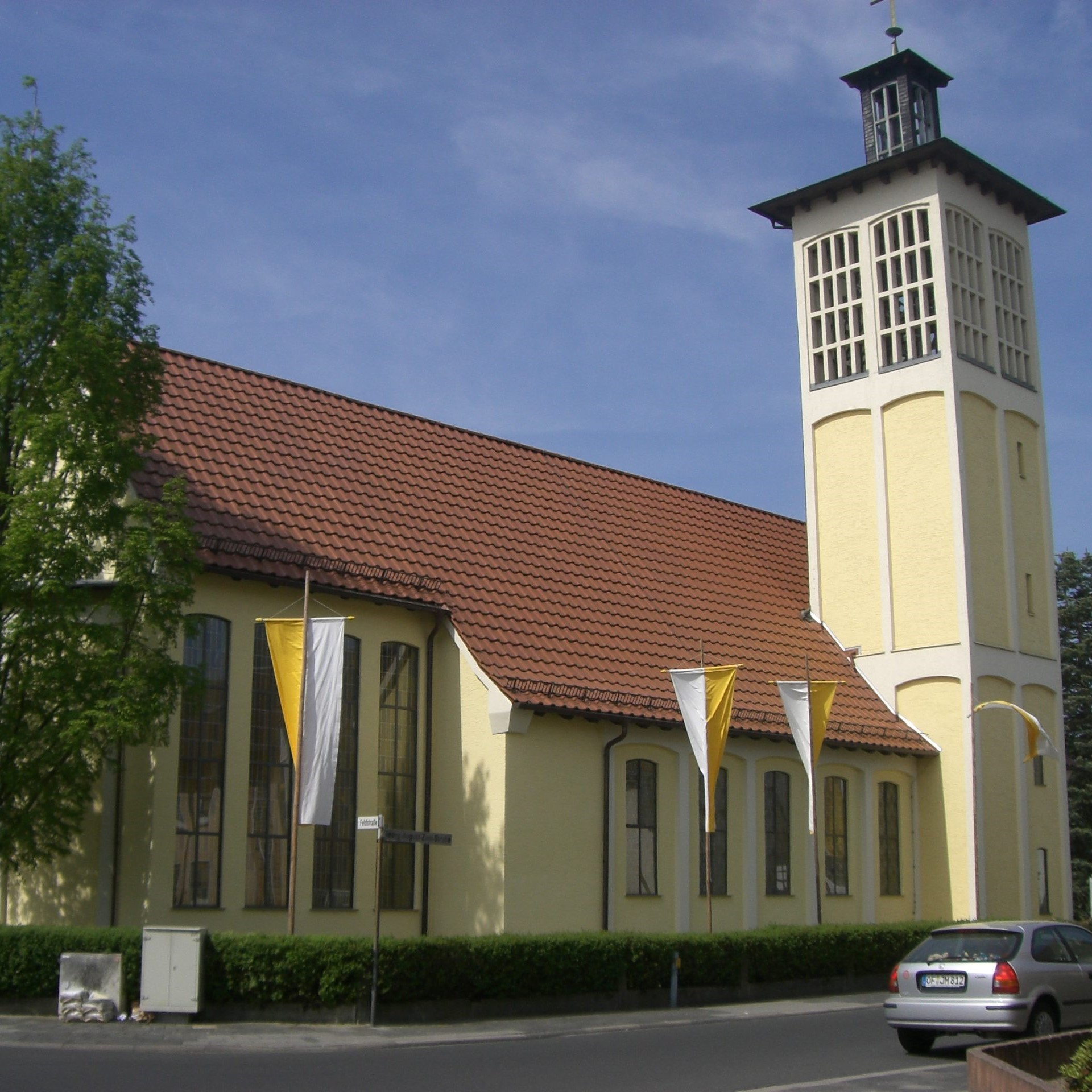 Read more about the article Open-Air-Gottesdienst im Pfarrgarten St. Marien