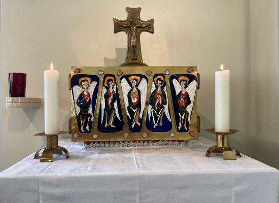 Tabernakel und das ewige Licht